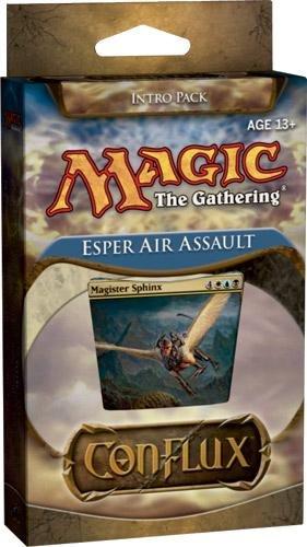 Magic The Gathering Conflux Esper Air Assault Intro Pack Sealed Deck