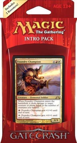 Magic the Gathering MTG Gatecrash Intro Pack Boros Battalion Includes 2 Booster Packs