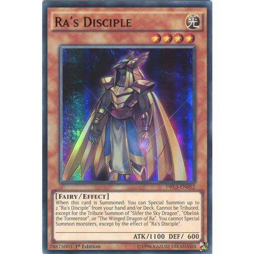 YuGiOh  DRL3-EN052 1st Ed Ras Disciple Ultra Rare Card -  Yu-Gi-Oh Single Card  by Deckboosters