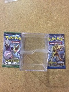 150 Card Storage Cube  2 Random Pokemon Booster Packs
