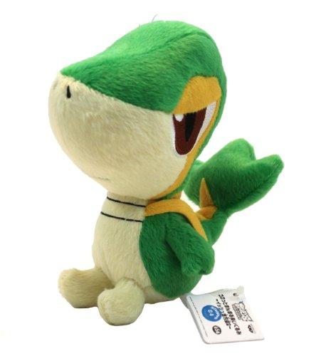 Pokemon Best Wishes Banpresto Plush - 47224 - 6 - Chibi SnivyTsutarja