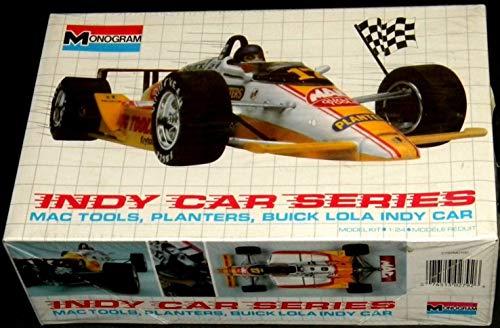 Indy Car Series Mac Tools Planters Lola Indy Car Vintage 1989 124 Model Kit