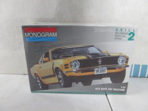 Monogram 1970 Boss 302 Mustang 124 Model Kit
