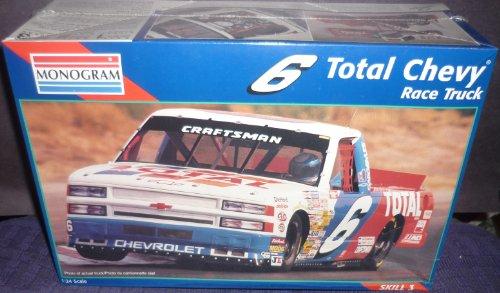 Monogram 6 Total Chevy Race Truck 124 Scale Skill 3 Model Kit 1996 Revell-Monograme  2475 Hobby Kit