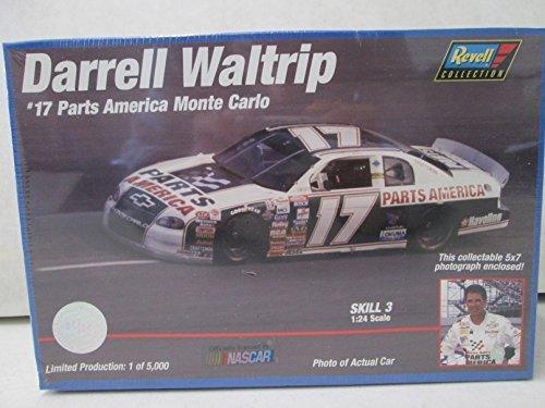 Revell Darrell Waltrip 17 Parts America Monte Carlo 124 Model Kit