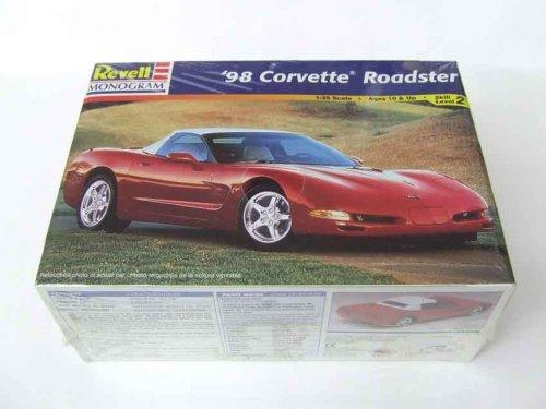 98 Corvette Roadster 125 Scale Model Car Kit By Revell Monogram Skill Level 2