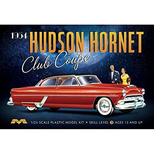 1954 Hudson Hornet Club Coupe 125 Scale Model Kit