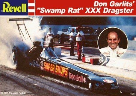 Revell Don GarlitsSwamp Rat XXX Dragster 125 Scale Model Kit