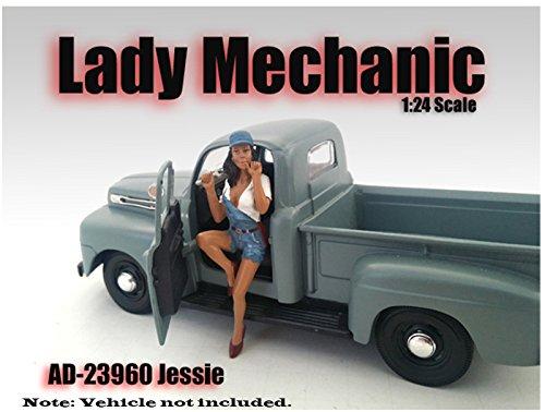 American Diorama Figure Lady Mechanic Jessie 124 Scale