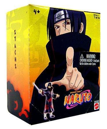 Naruto Mattel 3 Inch PVC Tree Diorama Single Figure Series 2 Itachi 7 of 10