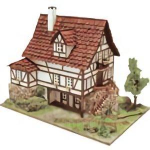 Domus Frieburg - Premium Model Diorama kit