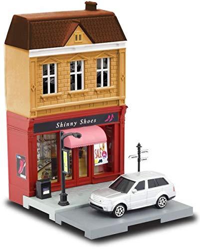FidgetKute RMZ CITY DIORAMA MODEL KITS BUILDING TOYS EUROPEAN HOUSE 164 DIECAST METAL CARS