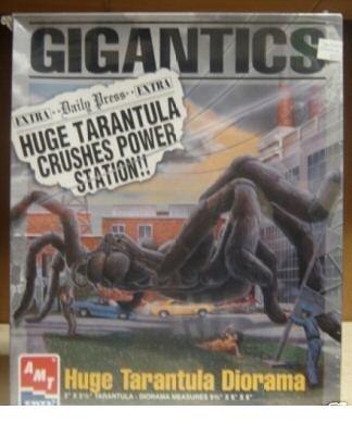 Gigantics Huge Tarantula Diorama Model Kit