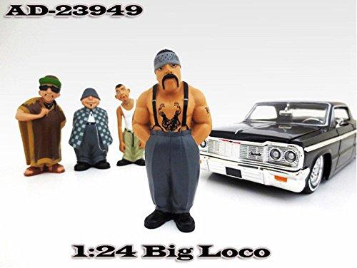 Homies Figures Series 1 Big Loco American Diorama Figurine 23949 - 124 scale