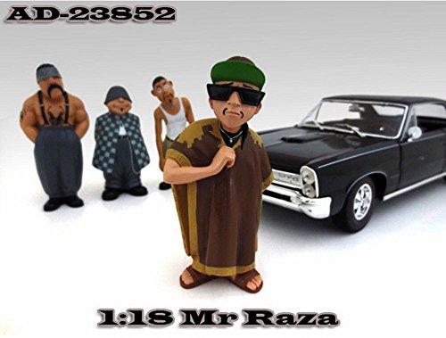 Homies Figures Series 1 Mr Raza American Diorama Figurine 23852 - 118 scale