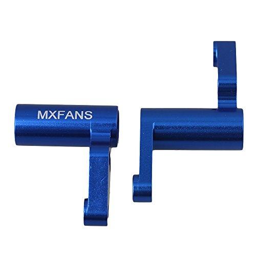 Mxfans Mxfans Dark Blue 113712 Steering Servo Saver Complete for HPI RS4 SPORT3 RC 110 On Road Racing Car Set of 2