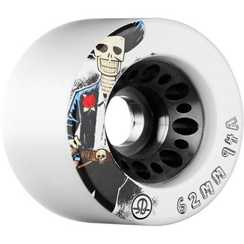 Rollerbones Day of the Dead 94A Roller Derby Skate Wheels Roller Bones