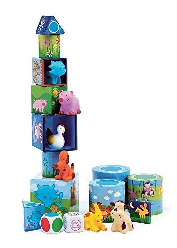 Djeco  Ludanimo 3 in 1 Preschool Games