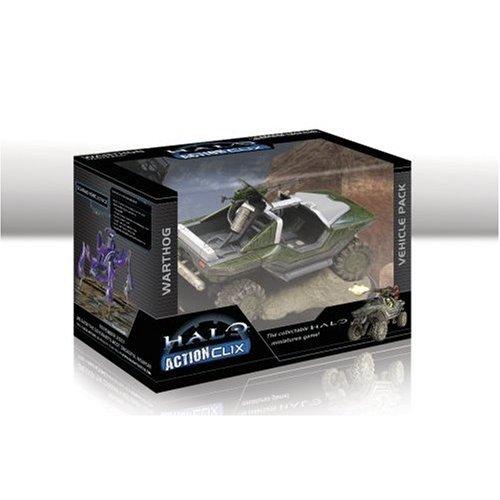 Halo ActionClix Trading Miniature Figure Game Battle Damaged Warthog
