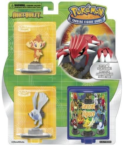 Pokemon Trading Figure Game NextQuest 3 Figure Booster 3 Random Figures