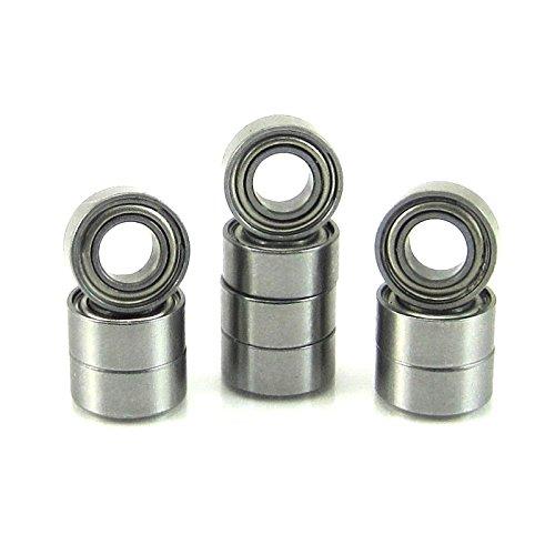 125x250x109 Precision Ball Bearings 10 ABEC 3 Metal Shields