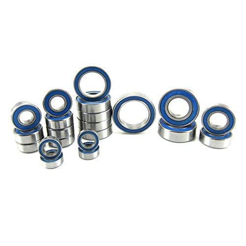 Traxxas Slash 4x4 VXL ABEC 3 Precision Ball Bearing Kit BU 21 Rubber Seals