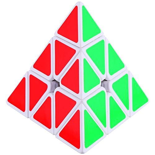 Dreampark Pyraminx Pyramid Speed Cube Puzzles White