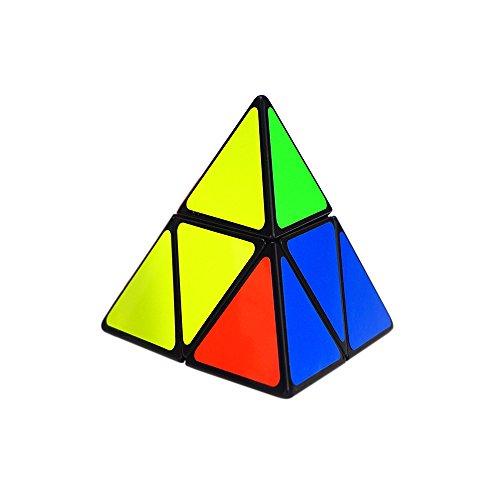 INCIPIENT 2x2 Pyraminx Puzzle Cube Toy Black