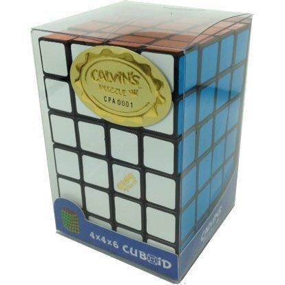 Black 4x4x6 Calvins Puzzle TomZ Cuboid Puzzle by Calvins Puzzle TomZ