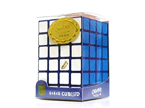 Blue 4x4x6 Calvins Puzzle TomZ Cuboid Puzzle