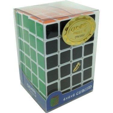 White 4x4x6 Calvins Puzzle TomZ Cuboid Puzzle by Calvins Puzzle TomZ