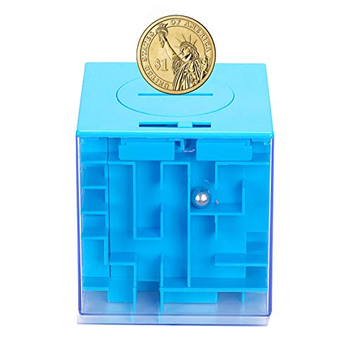 Money Maze Puzzle Box AHYUAN Money Holder Puzzle 3D Maze Puzzle Boxes for Gift Cards or Money Brain Teasers Puzzles IQ Toys Intellectual Magic 3D Game Maze Puzzles for AdultsStudents