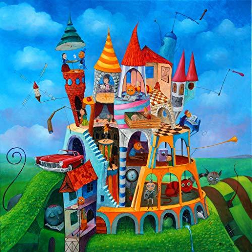 Ecru Puzzles - Tomasz Pietrzyk Family House Wooden Jigsaw Puzzle