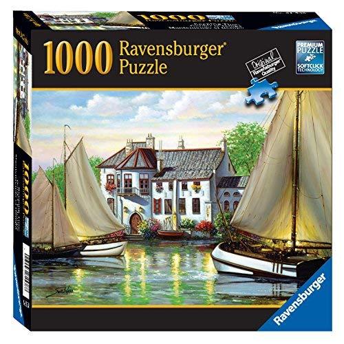 Ravensburger Reie House Landing 1000 Piece Puzzle