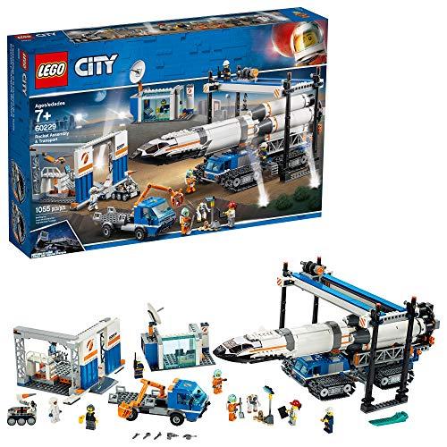 LEGO City Rocket Assembly Transport 60229 Building Kit 1055 Pieces