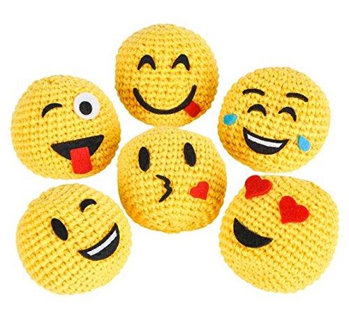 2 Emoji Hackysack 12pcs