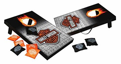 Harley-Davidson Bar Shield Mini Cornhole Bean Bag Toss 105 x 16 Inches 66248