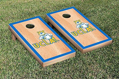 College Vault California Los Angeles UCLA Bruins Cornhole Game Set Hardcourt Border Version