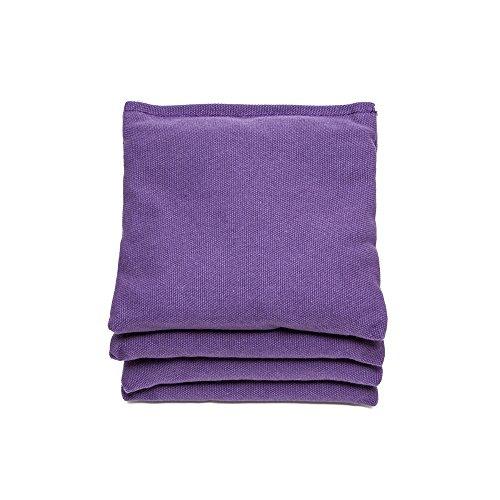 Regulation Cornhole Bags Set of 4 by SC Cornhole Purple