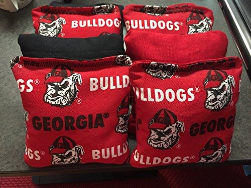 University of Georgia Bull Dogs ACA Regulation Cornhole Bags