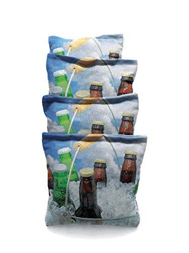 Beer Bucket 2 Standard Custom Corn Hole Bags Cornhole Bags