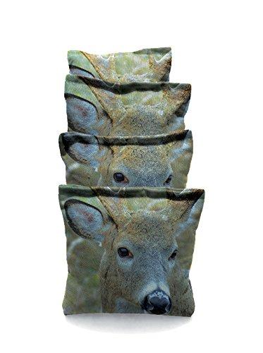 Deer 2 Standard Custom Corn Hole Bags Cornhole Bags