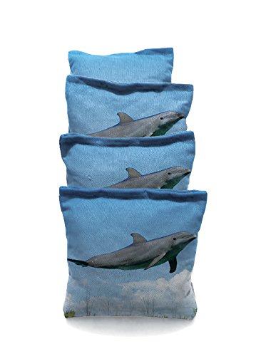 Dolphin Jumping Standard Custom Corn Hole Bags Cornhole Bags
