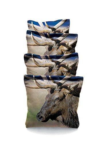 Elk 1 Standard Custom Corn Hole Bags Cornhole Bags