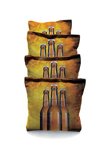 Three Beer 1 Standard Custom Corn Hole Bags Cornhole Bags