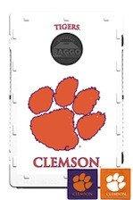 Baggo Bean Bag Toss Game with College Team Logo Clemson Tigers