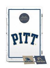 Baggo Bean Bag Toss Game with College Team Logo University of Pittsburgh Panth