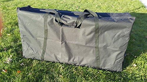 NEW Design Heavy Canvas Zipper Enclosed Cornhole Board Set Carrying Case