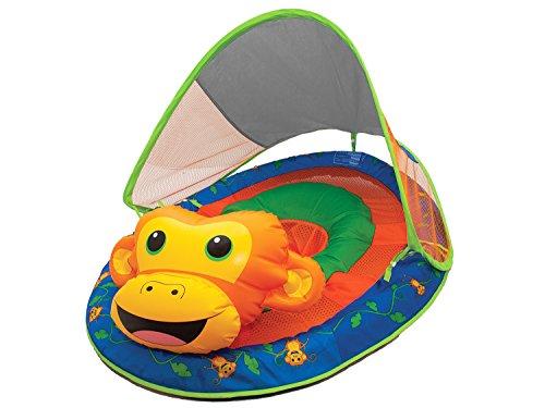 SwimWays Baby Spring Float Sun Animal Friends - Monkey