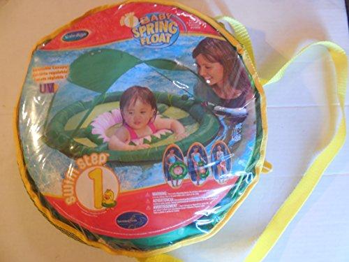 swimways baby spring float swimways - adjustable canopy - swim step 1